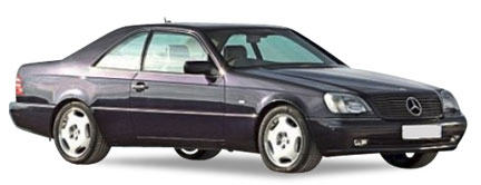 Mercedes-Benz S-klasse Coupe (C140)
